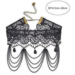 Lace Lychee Choker - Lingerie, from lakelace.com