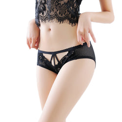 Senna - Hollow Flower Lace Panties - Lingerie, from lakelace.com
