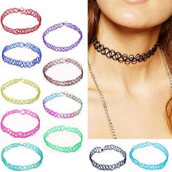 Cute Coloured Choker - Lingerie, from lakelace.com