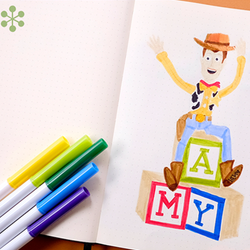 Plan With Us May 2019 | Dingbats* Notebooks Toy Story