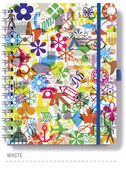 Dingbats* Wire 'O' Wirebound 5 Subject Notebook - Dingbats* Notebooks USA