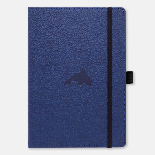 Dingbats* A4+ Wildlife Blue Whale Notebook - Dingbats* Notebooks USA