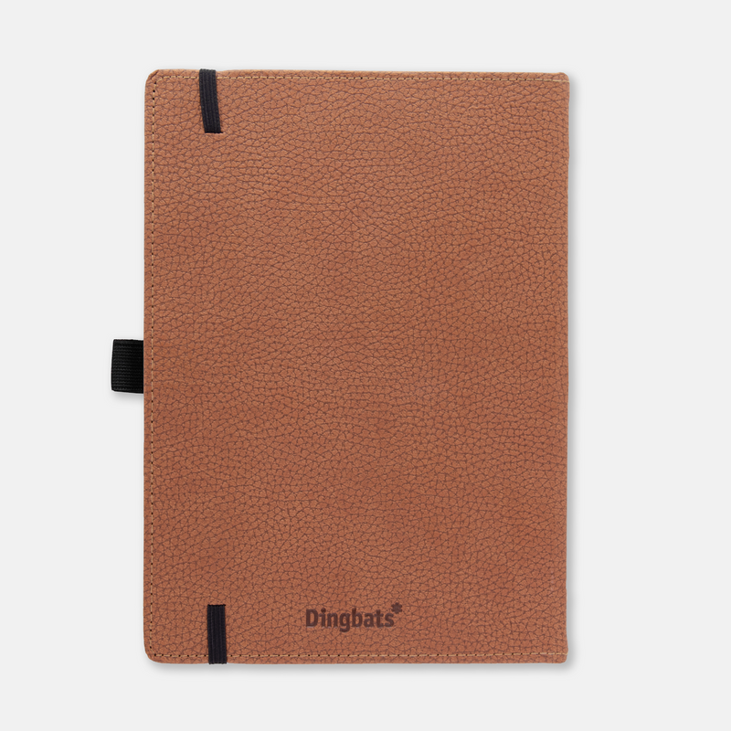 Dingbats* A5+ Wildlife Brown Bear Notebook