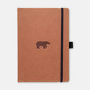 Dingbats* A5+ Wildlife Brown Bear Notebook - Dingbats* Notebooks USA