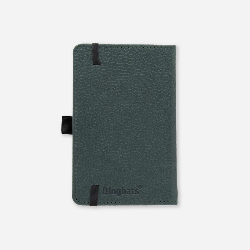 Dingbats* A6 Pocket Wildlife Green Deer Notebook - Dingbats* Notebooks USA