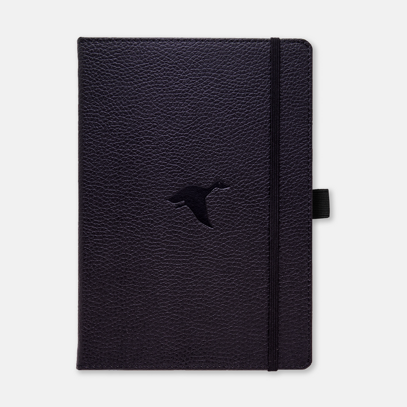Dingbats* A5+ Wildlife Black Duck Notebook - Dingbats* Notebooks USA