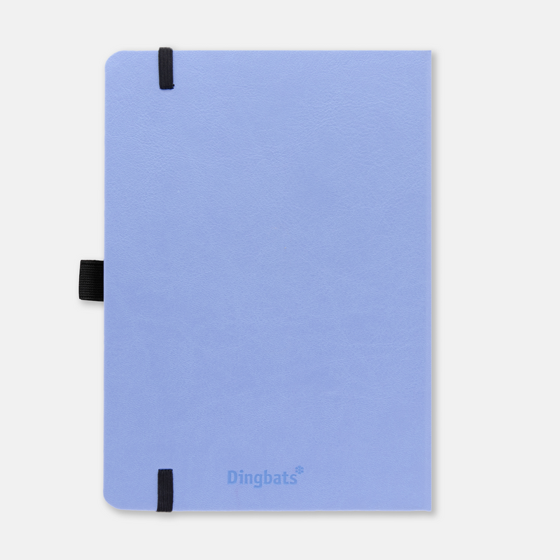 Dingbats* Earth Sky Blue Great Barrier Reef Journal - Dotted (A5+ 6.3 x 8.5in) - Dingbats* Notebooks USA