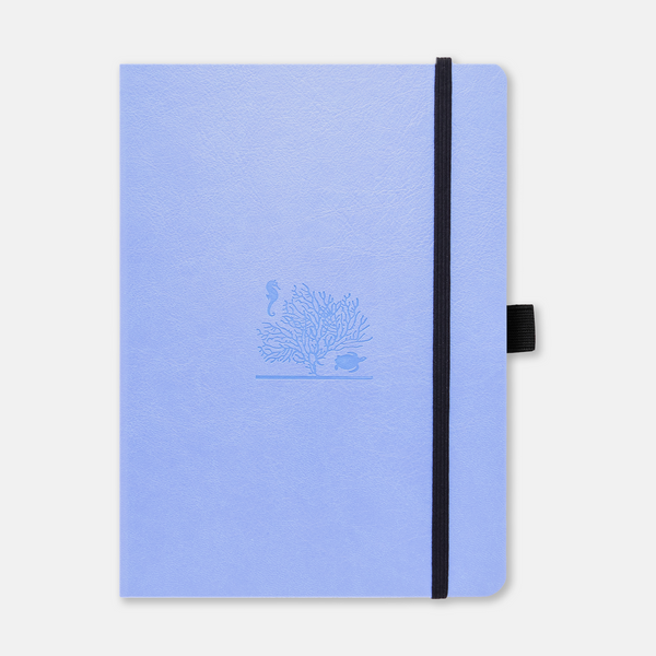 [Aid for Australia] Dingbats* Earth Sky Blue Great Barrier Reef Journal - Dotted (A5+ 6.3 x 8.5in)