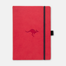 Dingbats* A5+ Wildlife Red Kangaroo Notebook - Dingbats* Notebooks USA