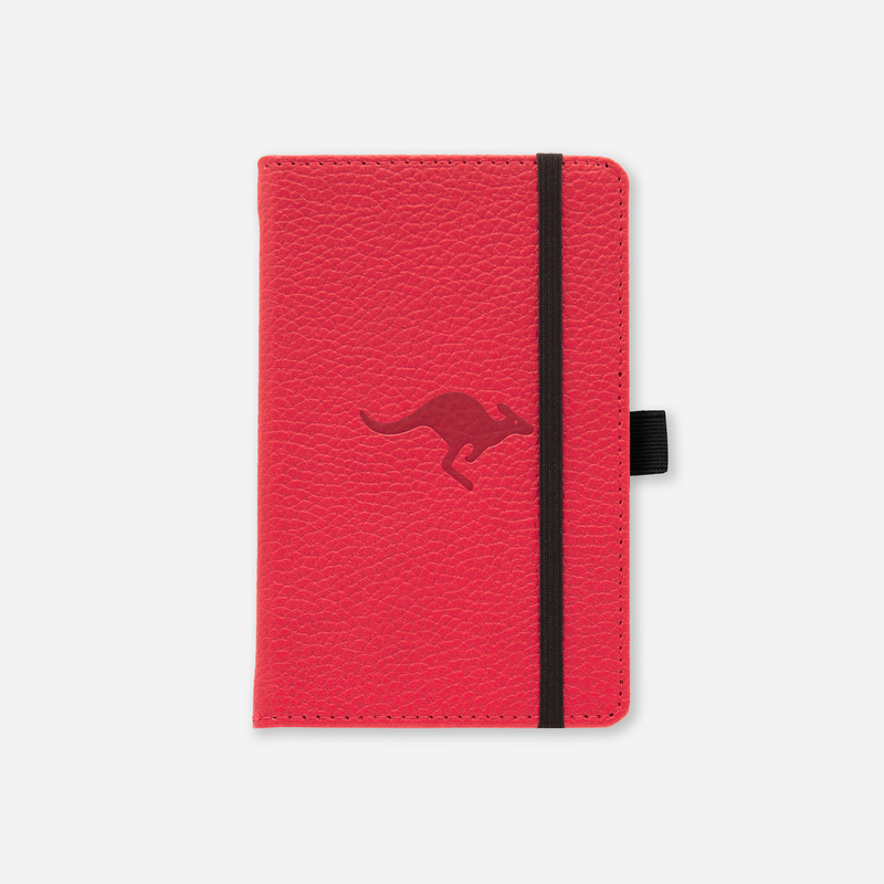 Dingbats* A6 Pocket Wildlife Red Kangaroo Notebook - Dingbats* Notebooks USA