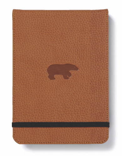 Dingbats* A6+ Wildlife Brown Bear Reporter Notebook - Dingbats* Notebooks USA