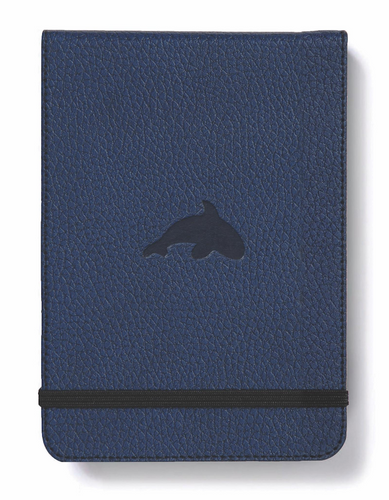 Dingbats* A6+ Wildlife Blue Whale Reporter Notebook - Dingbats* Notebooks USA