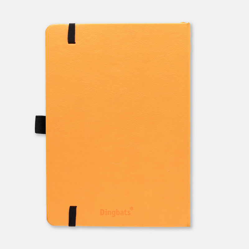 Dingbats* Earth Tangerine Serengeti Journal - Dotted (A5+ 6.3 x 8.5in) - Dingbats* Notebooks USA