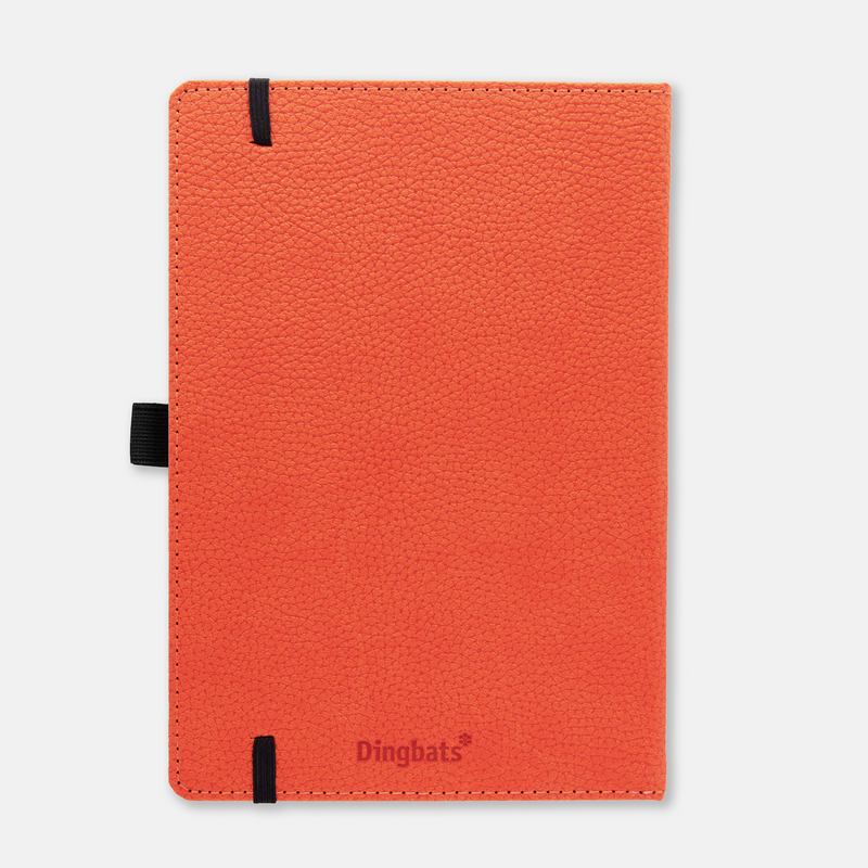 Dingbats* A5+ Wildlife Orange Tiger Notebook