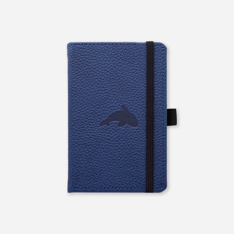 Dingbats* A6 Pocket Wildlife Blue Whale Notebook - Dingbats* Notebooks USA