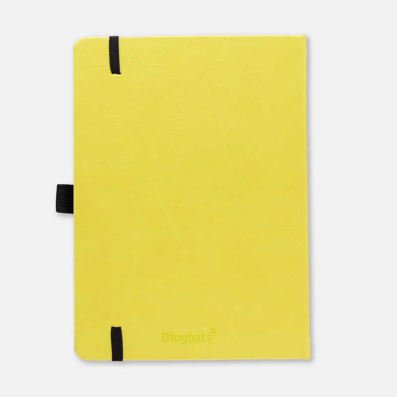 Dingbats* Earth Lime Yasuni Journal - Dotted (A5+ 6.3 x 8.5in) - Dingbats* Notebooks USA