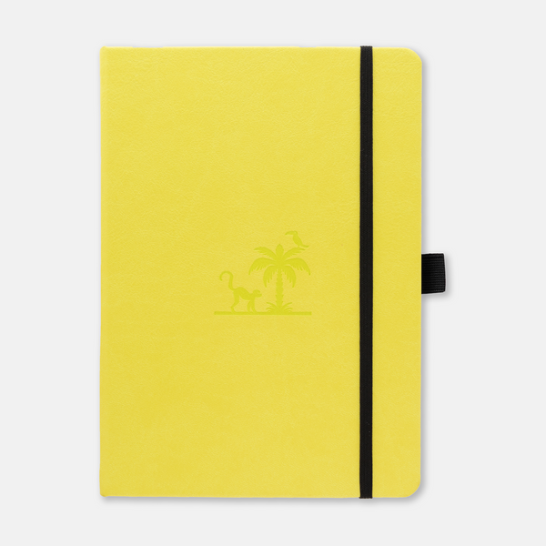 Dingbats* Earth Lime Yasuni Journal - Dotted (A5+ 6.3 x 8.5in)