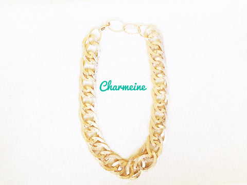 Oval Rings Chain is a beautifully designed Chains that would elegantly go with your winter/summer wear - Charmeine Apparel & Accessories