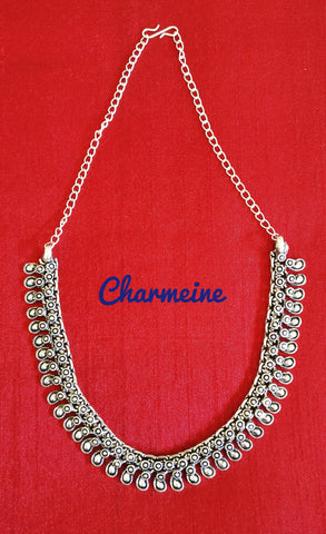 Antique GS Necklaces (Available in two designs) is a beautifully designed Necklaces that would elegantly go with your winter/summer wear - Charmeine Apparel & Accessories