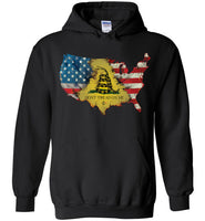 LIL Red Danger Dont Tread on Me Hoodie