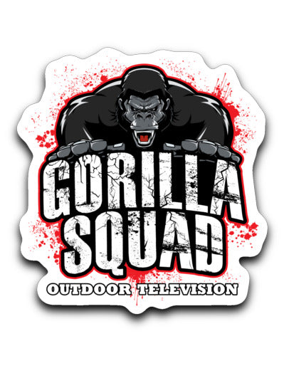 Gorilla Squad Decal