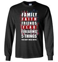 All American Long Sleeve T-Shirt