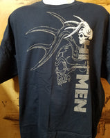 Hitmen Double Skull T Shirt