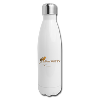 Bone Wild TV Water Bottle - white