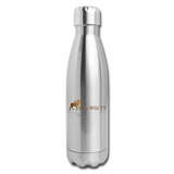 Bone Wild TV Water Bottle - silver