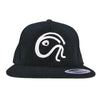 """ITS A WOOL THING"" BLACK WOOL EMBLEM SNAPBACK CAP"