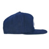 """ITS A WOOL THING"" NAVY BLUE WOOL EMBLEM SNAPBACK CAP"