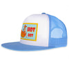 HOT DOG SKY BLUE TRUKER SNAPBACK CAP