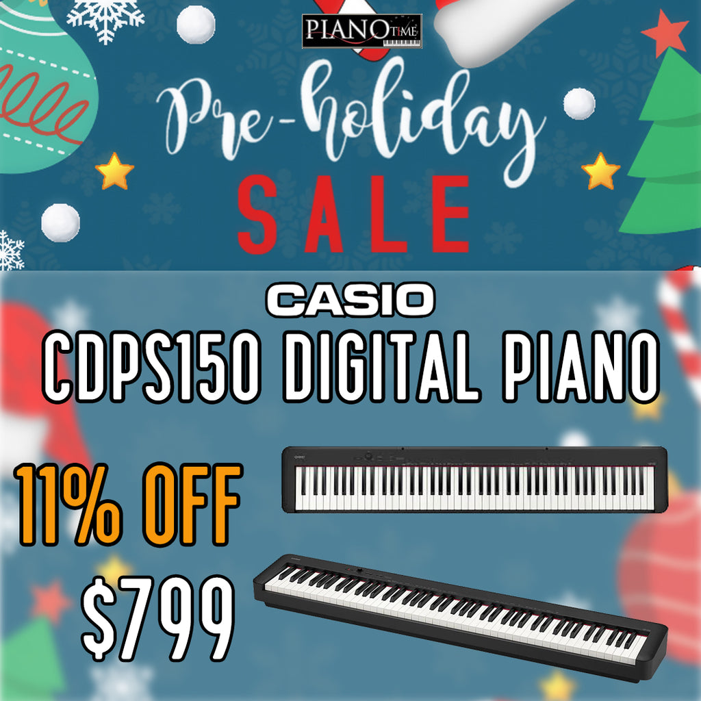 Pre-Holiday Sale – Casio CDPS150 Digital Piano 11% OFF