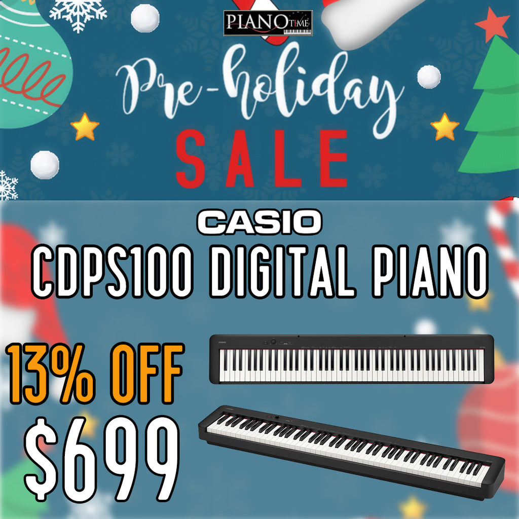 Pre-Holiday Sale – Casio CDPS100 Digital Piano 13% OFF