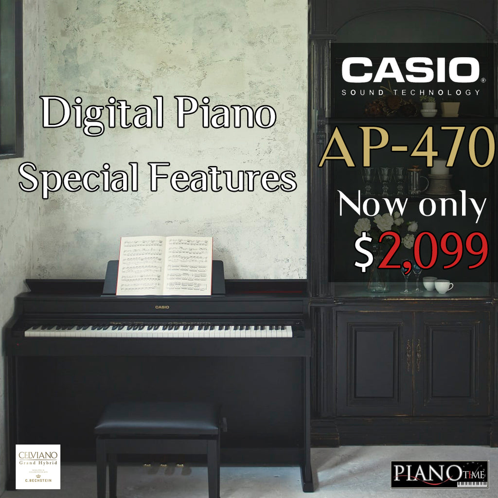 What Makes Our Casio AP470 So Special?