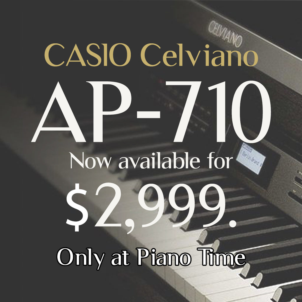 Casio Celviano AP710 Digital Piano - Now at Piano Time !
