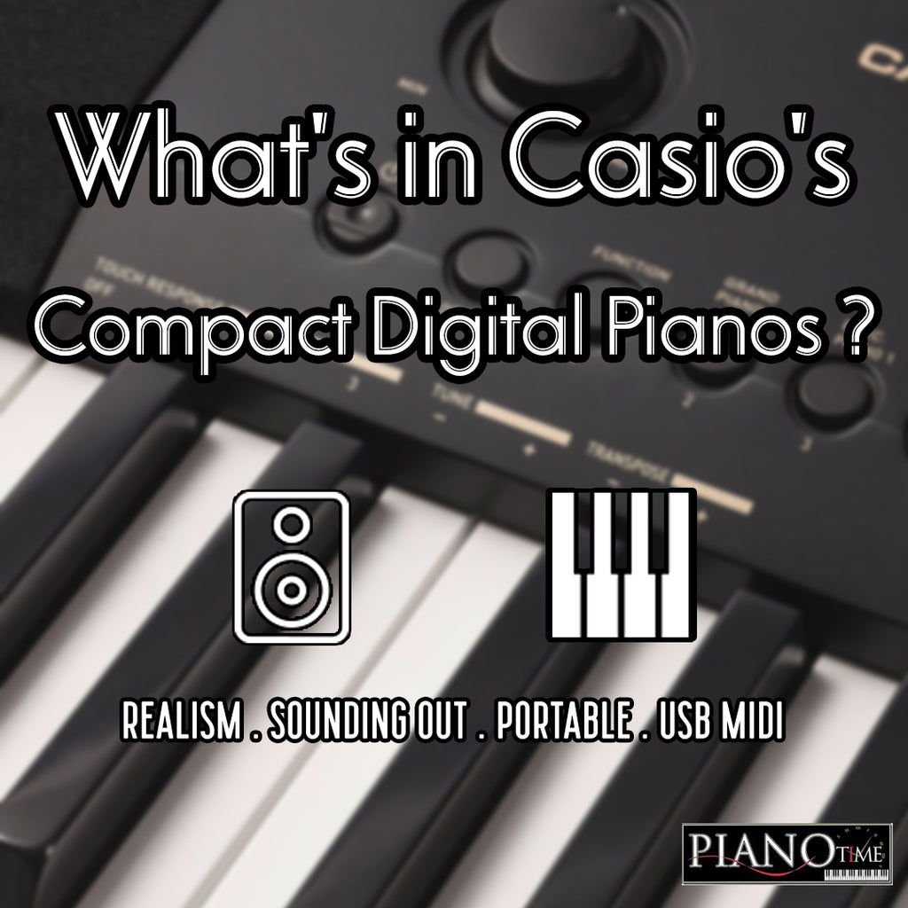 What's Inside Our Amazing Casio CDP Series?!