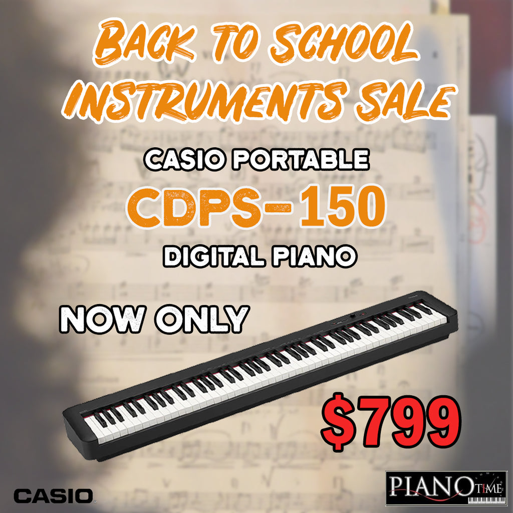 Back to School Sale – Casio CDP-S150 Digital Piano!