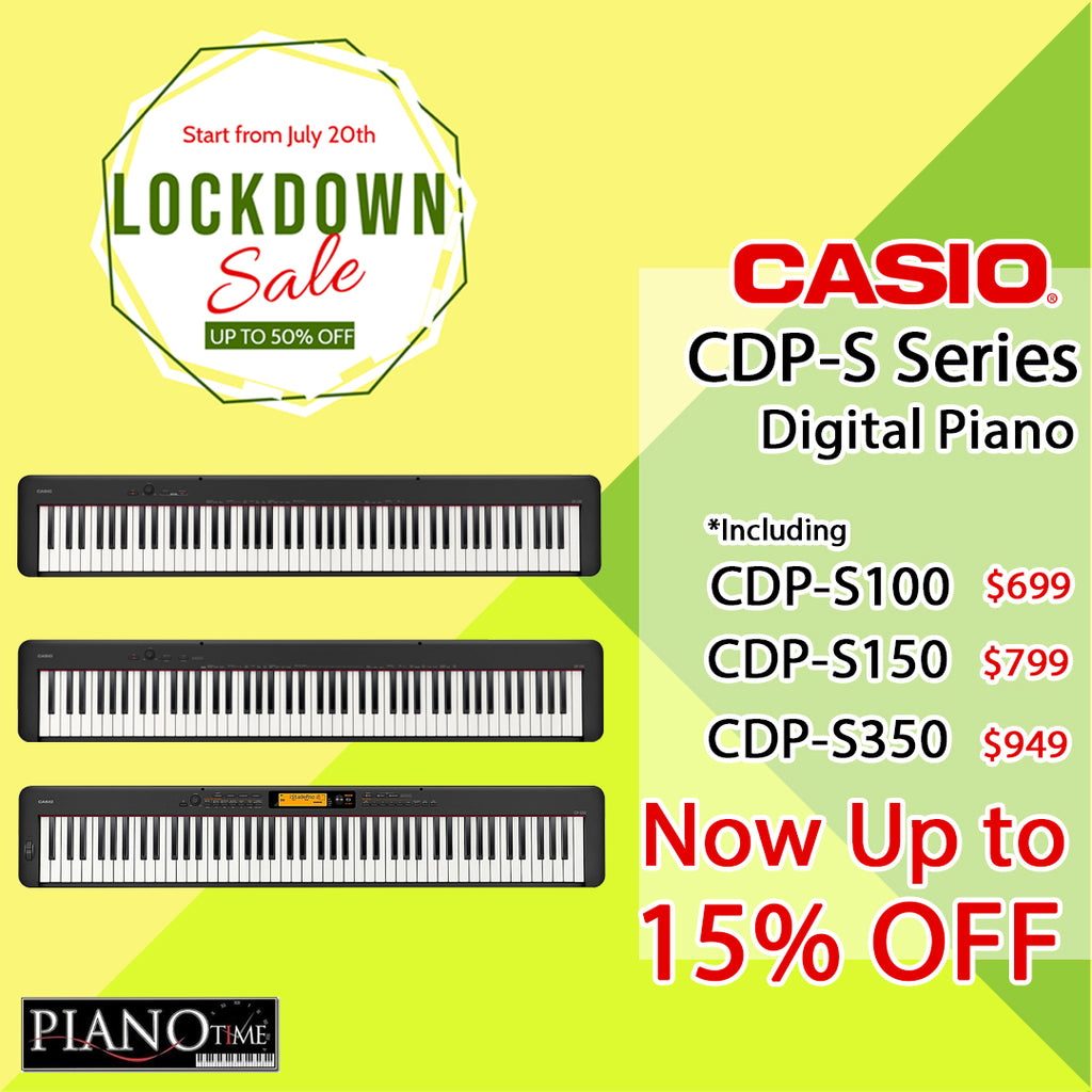 Lockdown Sale – Casio CDP-S Portable Digital Piano now Up to 15% Off!