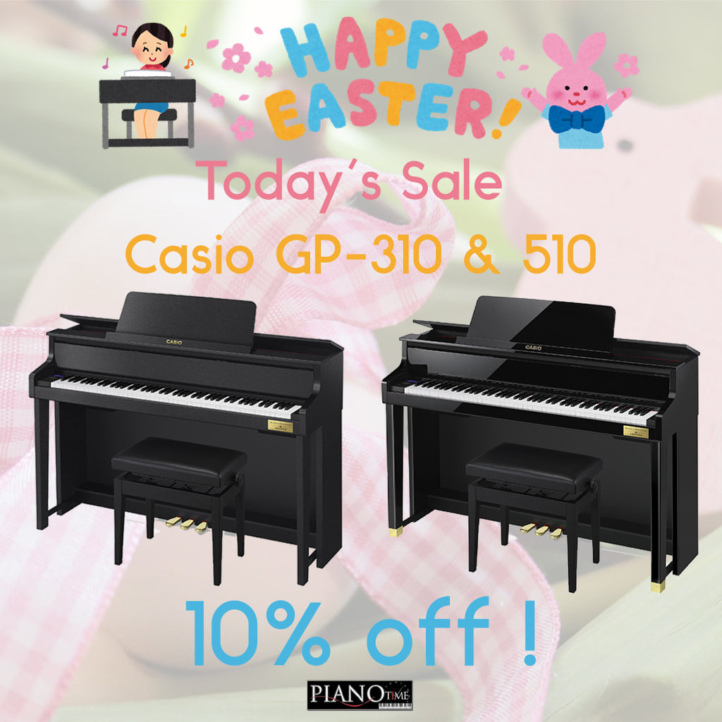 Piano Time Easter Sales - Casio Grand Hybrid Day 2 Offer!