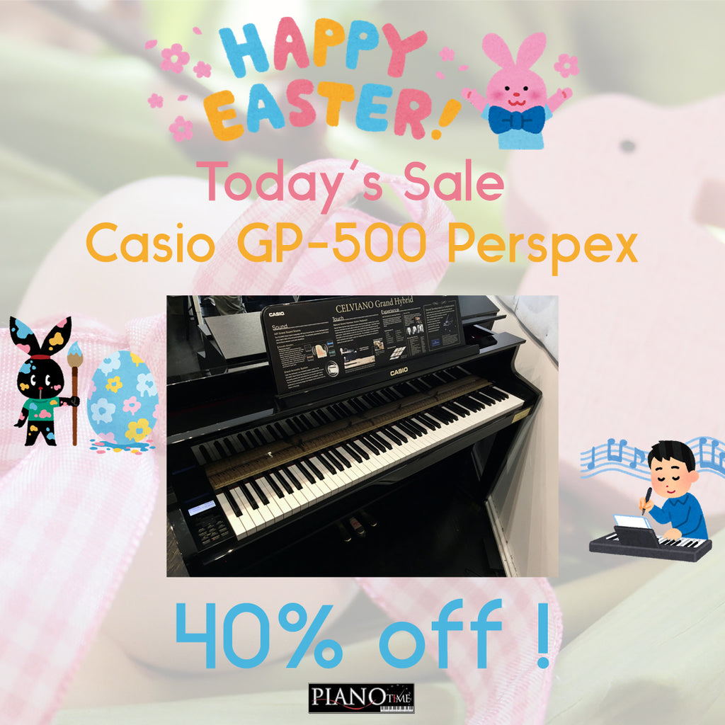 Piano Time Easter Sales - Casio GP500 Day 3 Offer!