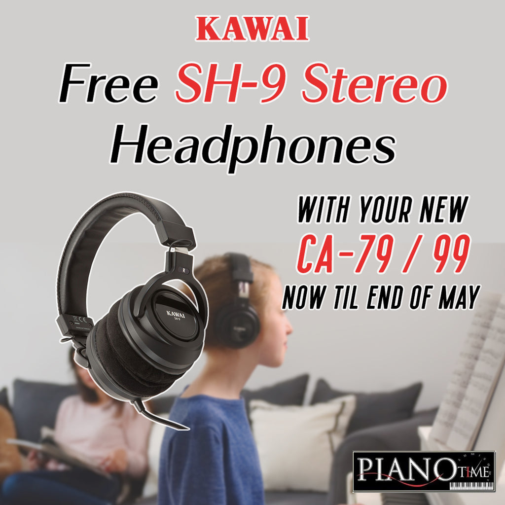 Be Inspired! – Free Headphone to go With Your Kawai Concert Artist Purchases