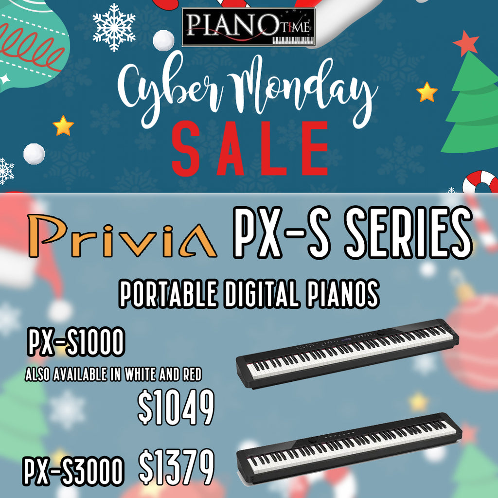 Cyber Monday Sale – Casio PXS Portable Pianos upto 14% OFF