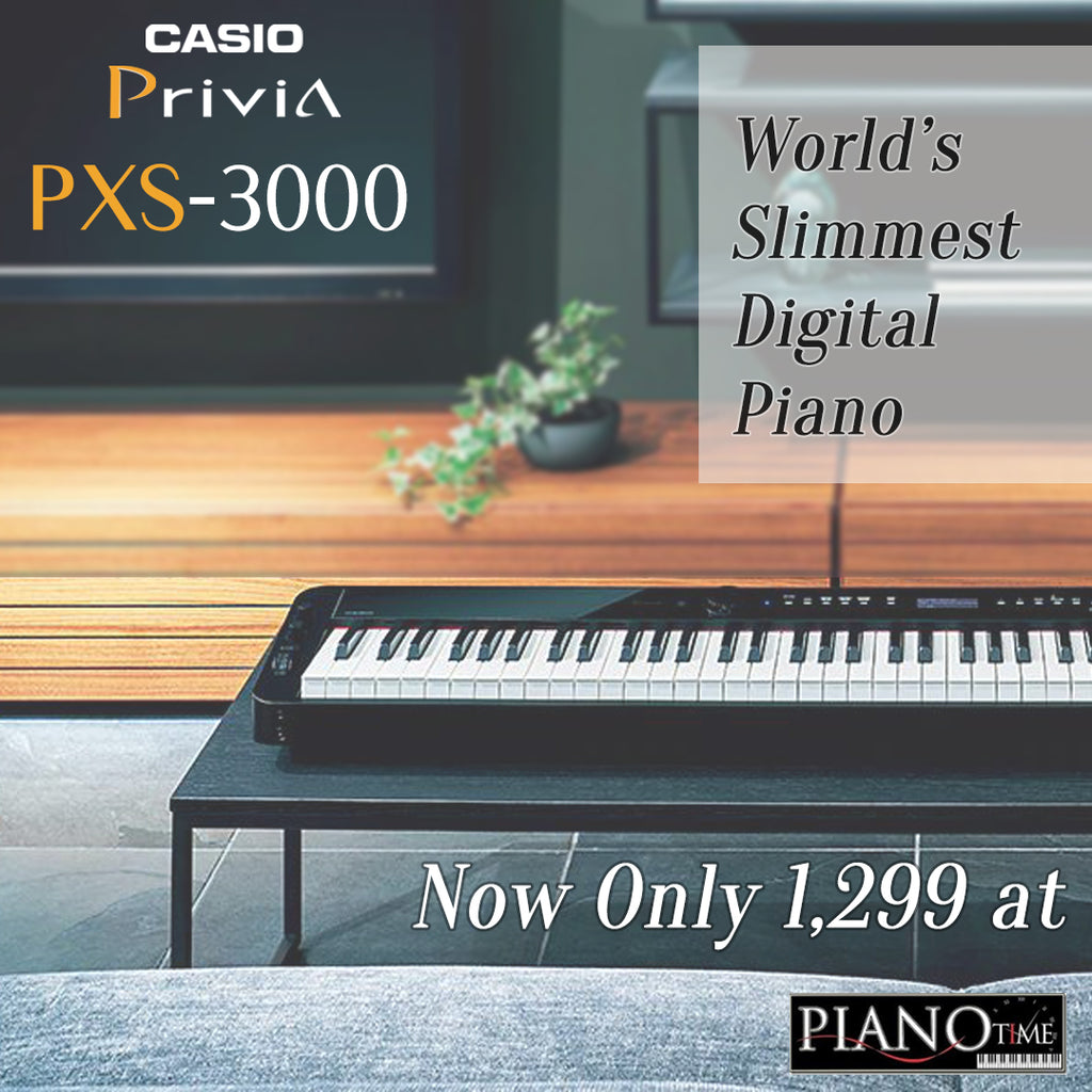 PXS3000 – Get the Lightest Piano for This Mother's Day