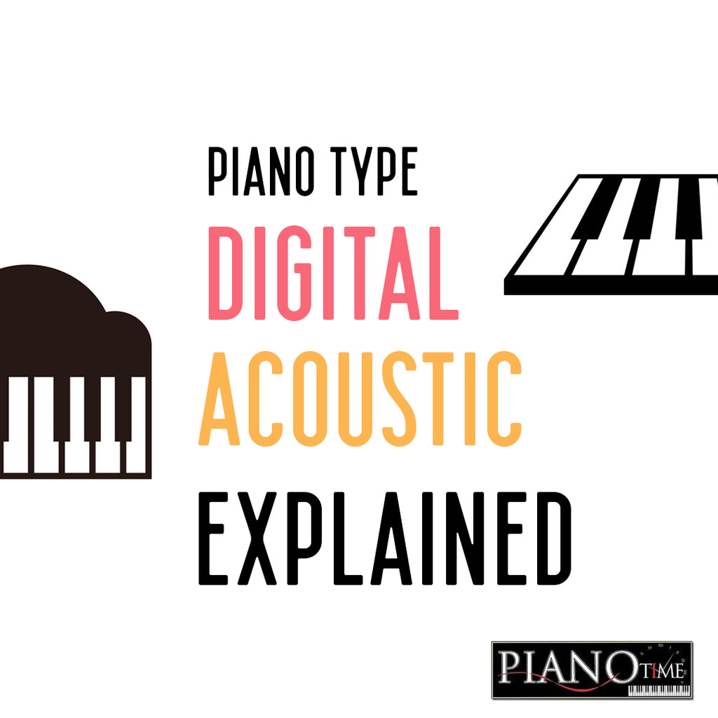Piano Time Education #2 - Digital vs acoustic piano, explained