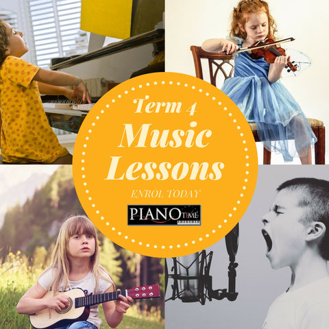 Piano, Violin, Viola, Guitar, Drums, Singing Music Lessons