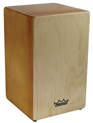 REMO Dorado Birch Wood Cajon Drum with Quick Plate Snare System