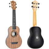 (Available for order) Flight TUS50 ABS Salamander Travel Soprano Ukulele - Walnut