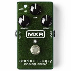 MXR M169 Carbon Copy Analog Delay Guitar Effects Pedal - Authorised Dealer