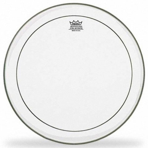 "REMO | Pinstripe | 14"" Clear Drum Head 